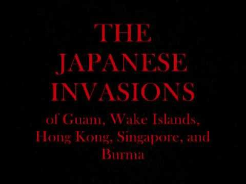 Japanese Invasion in WW2
