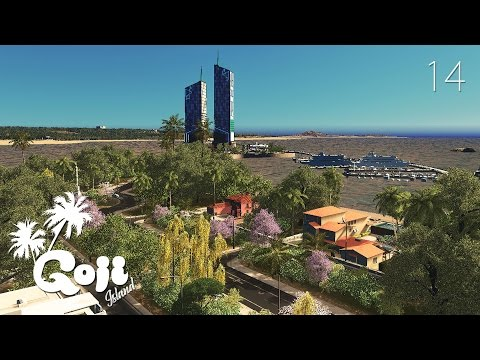 ARTIFICIAL ISLANDS (Part 2) - Cities Skylines: Goji island - ep.14
