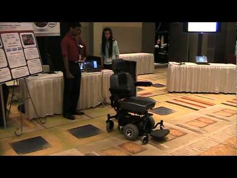 WPI's Interactive Multi-control Wheelchair team at Cornell Cup USA, presented by Intel