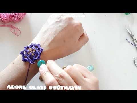 Düğmelerle süpriz diy fikir  #taki #aksesuar #jewelery #tigisi #örgü #bag #bags