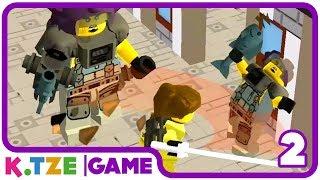 Lego Ninjago Movie Wu Cru Deutsch 🏮 Spiele App | Folge 2