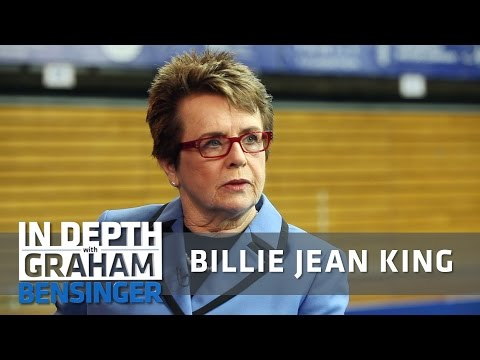 Billie Jean King: It doesn't feel safe to be gay