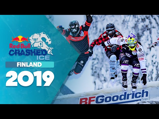 The Fastest Sport On Skates Hits Finland   Red Bull Crashed Ice 2019