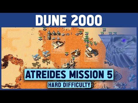 Dune 2000 - Atreides Mission 5 - Hard Difficulty - 1920x1080