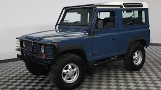 1995 LAND ROVER DEFENDER 90 BLUE