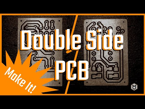 Double Side PCB: Making The PCB - The Ant Way