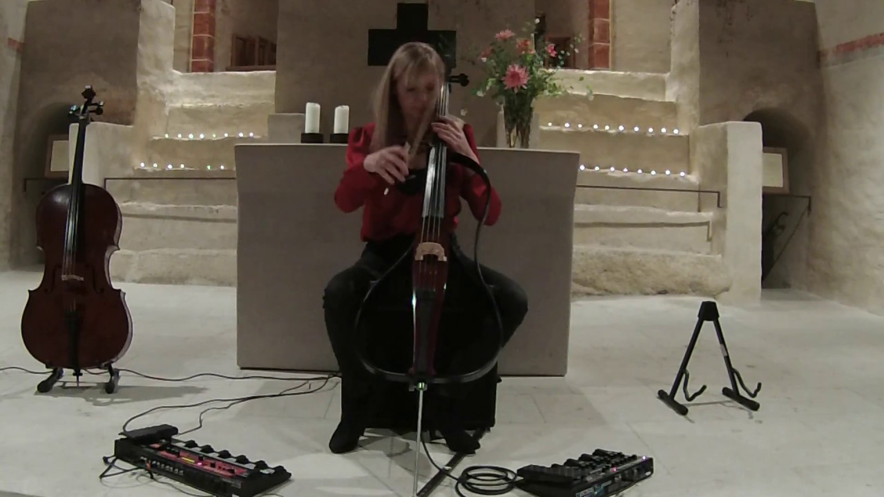 Distant Two, Mayke Rademakers (improvisations on electric cello)