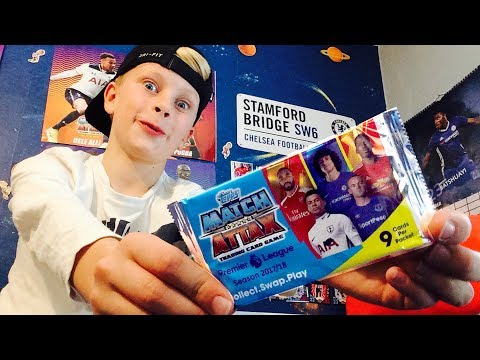 MATCH ATTAX 2017 - 18 | EXCLUSIVE PACK OPENING | 100 CLUB?!
