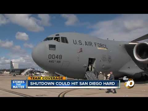 Shutdown could hit San Diego harder