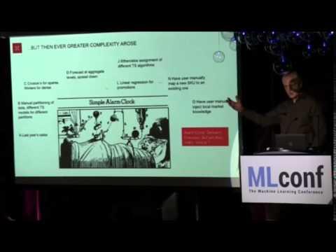 Ronald Menich, Chief Data Scientist, Predictix, LLC @ MLconf NYC