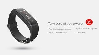 Elephone Band 5 Fitness Tracker First Look   Coming Soon