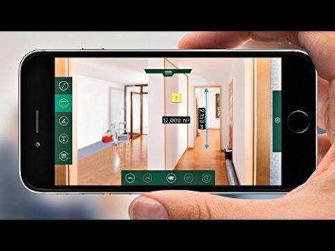 Bosch Entfernungsmesser Glm : Bosch messgerät laser entfernungsmesser glm 80 youtube