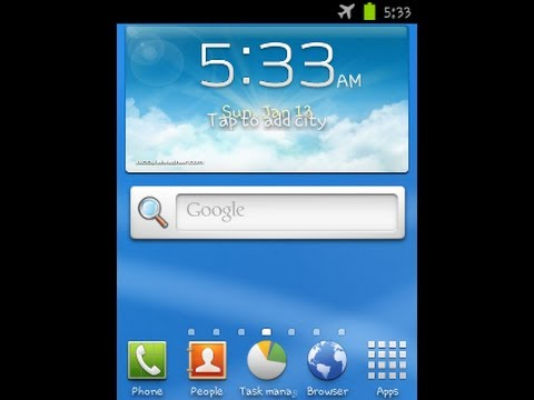 How to install jelly bean 4.2.1 TouchWiz 5 on galaxy mini/ s5570