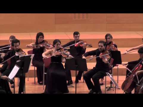 P. I. Tchaikovsky: Serenade Op. 48. Camerata del CSMA, Cuarteto Quiroga