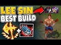 CONQUEROR LEE SIN IS THE BEST LEE SIN... | HOW TO BE USEFUL LATE GAME - League Of Legends