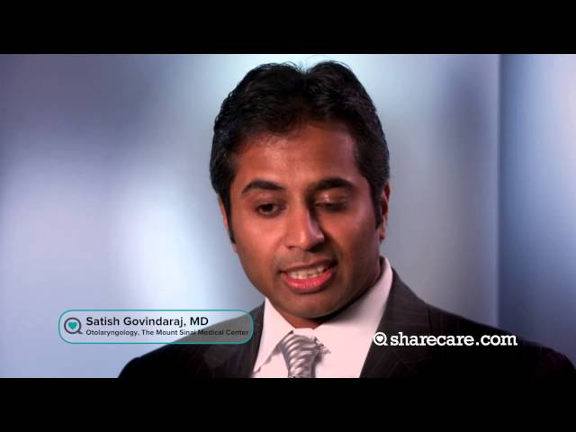 Dr. Satish Govindaraj Discusses Testing for Sinusitis