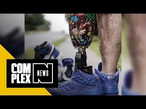 Meet the One-Legged Sneakerhead Who's Healing Through Social Media