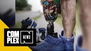 Meet the One-Legged Sneakerhead Who's Healing Through Social Media