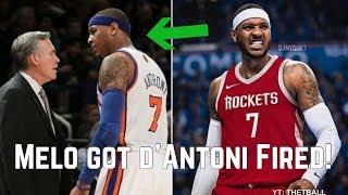 The BAD History Between Carmelo Anthony & Mike D'Antoni | Back Together For Houston Rockets!