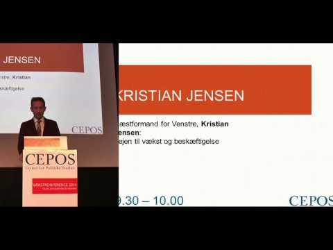 CEPOS Vækstkonference 2014: Kristian Jensen