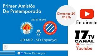 🔴LIVE📡🏀UB MIR Vs SD ESPANYOL (70-78)  (20/09/2020)(Pretemporada)