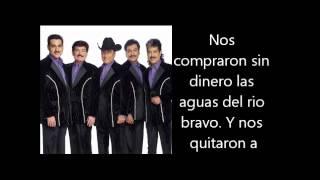 Los Tigres Del Norte - Somos Mas Americanos Letra Lyrics