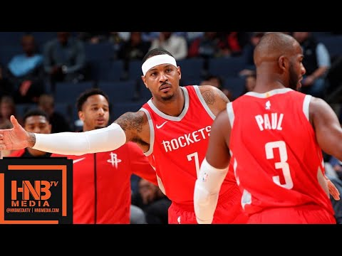 Houston Rockets vs Memphis Grizzlies Full Game Highlights | 10.12.2018, NBA Preseason
