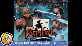 Bushido — game preview at Origins 2018