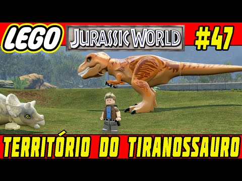 LEGO Jurassic World #47 - JOGO LIVRE #10 - Território do Tiranossauro