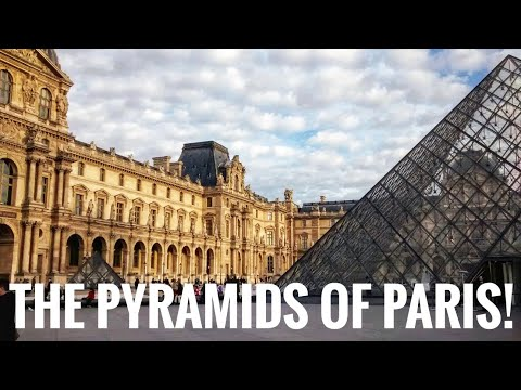 A modern classic: The Pyramids of the Louvre