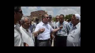 بالفيديو والصور.. محافظ كفر الشيخ يتابع رفع ناتج تكريك بحيرة البرلس
