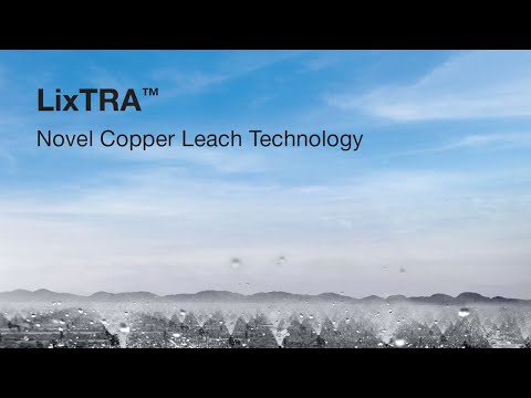 LixTRA Leaching Technology For Copper Heap And Dump Leach Processes