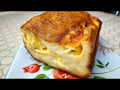 Сырный Хлеб Без Дрожжей! Очень Много Сыра! Простой Рецепт, Всё Смешал и Готово!