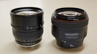 Battle of the Bokeh: Canon 85mm f/1.2L vs Mitakon ZY Optics 85mm f/1.2
