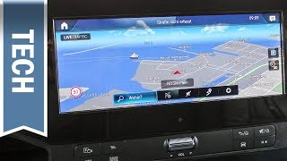 Mercedes Benz User Experience (MBUX) im neuen Sprinter 2018: 10,25 Zoll Infotainment