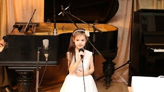 [Детские Концерты] От улыбки Крошка Енот поет Аннабель 5 лет | Музыкальная Академия Глория