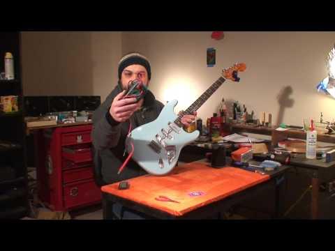 Vintage Fender Stratocaster: Update! Shielding and setup