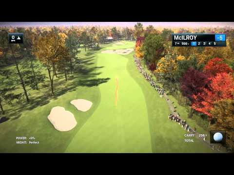 Rory McIlroy PGA Tour TPC Boston Playthrough