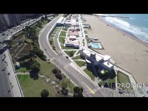 Video Mar del Plata 2018, Buenos Aires, Argentina, desde el aire in the air