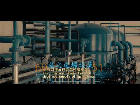 Spirulina production in the Erdos desert of China 内蒙古乌审召生态产业