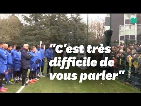 L'émotion au FC Nantes pour Emiliano Sala avant l'entraînement
