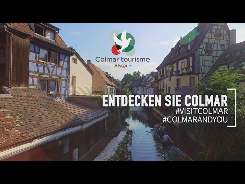 Entdecken Sie Colmar - Elsass / Frankreich