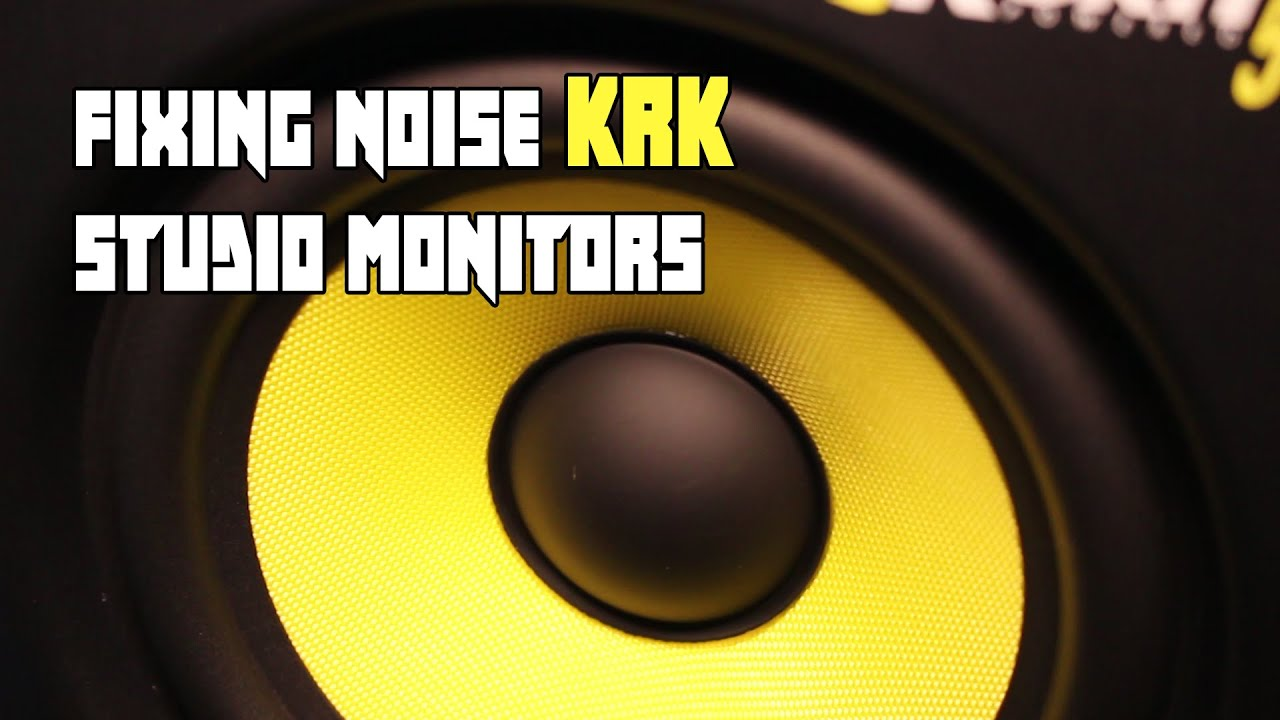 Fixing Noise Issues w/ KRK Rokit5 - REV J HD
