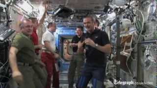 Chris Hadfield hands over ISS command