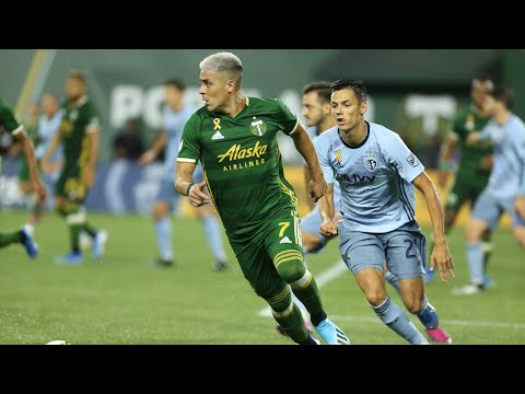 MATCH HIGHLIGHTS | Portland Timbers 2, Sporting Kansas City 1 | Sept. 7, 2019