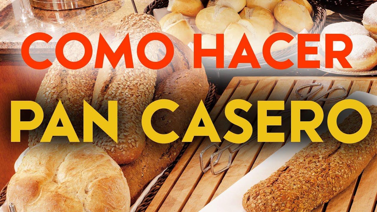 Como hacer pan casero receta para amasar y cocinar pan for Utensilio para amasar
