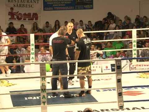 MMA SUPER FIGHT ,Ali from Reghin( 88 kg) , Romania vs  Bogdan Stefan 115 kg