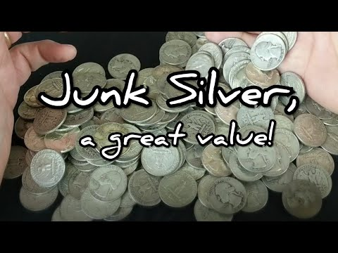 Buying Junk Silver. Why Constitutional Is A Great Buy For Your Retirement Savings Silver Stack!