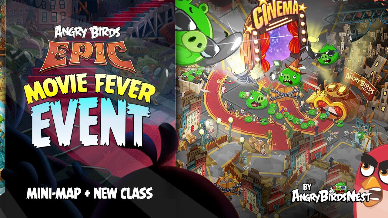 Angry Birds Epic Movie Fever Mini Map Event First Look ...