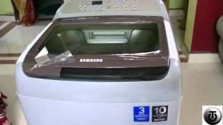 Samsung Activewash+ Wobble Technology 6.5kg automatic washing machine Unboxing and First look